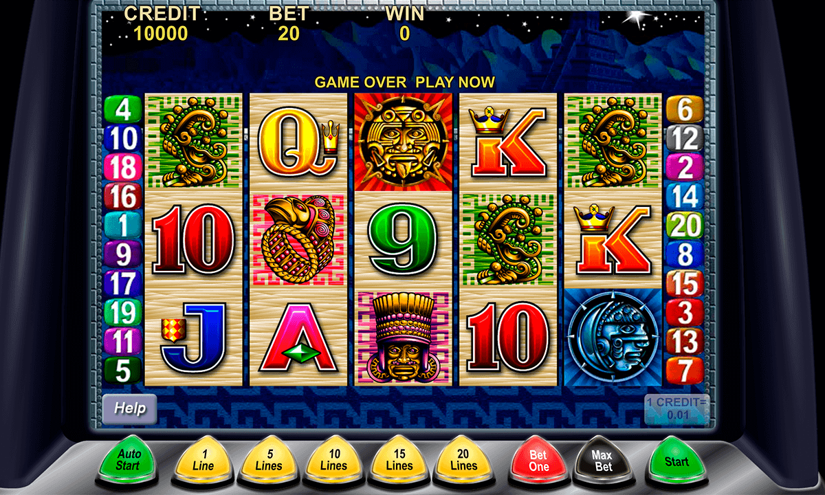 Are slot machine game only of one type?